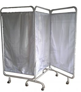 Bed Screen 3 Layar Stainless