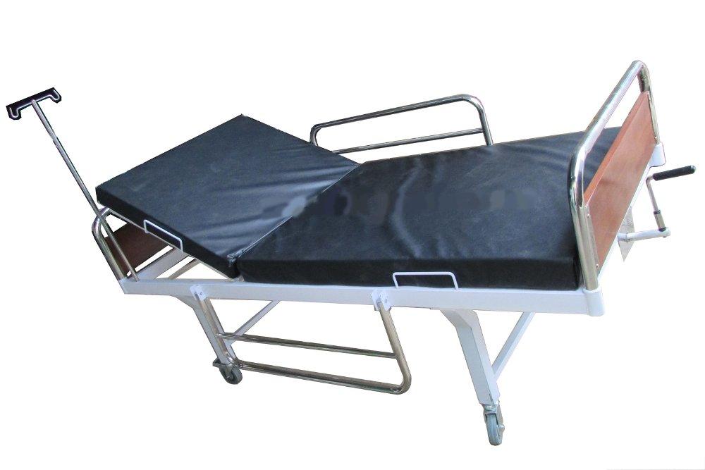 Ranjang Pasien 1 Crank atau Engkol Polywood