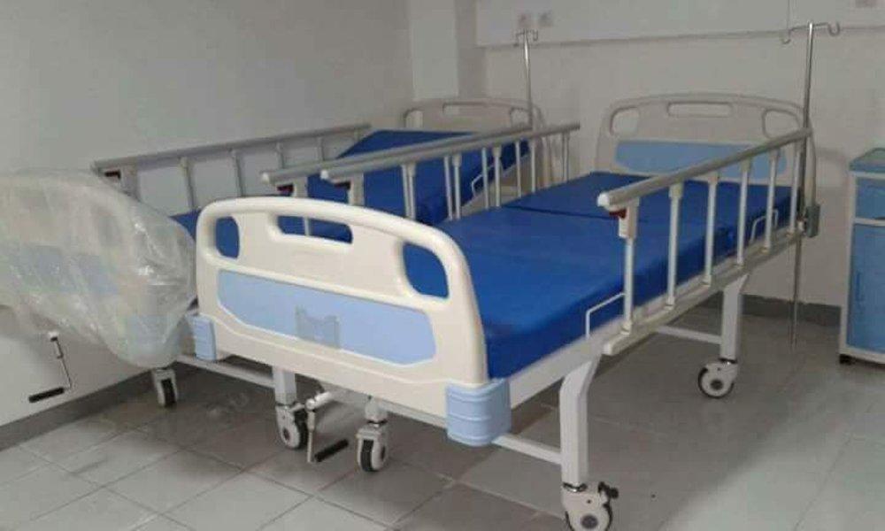 Ranjang Pasien 1 Crank atau Engkol ABS Manual